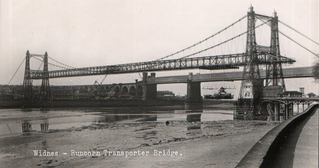 The Transporter Bridge which opened in 1905. Photo courtesy of Peter Blackmore.